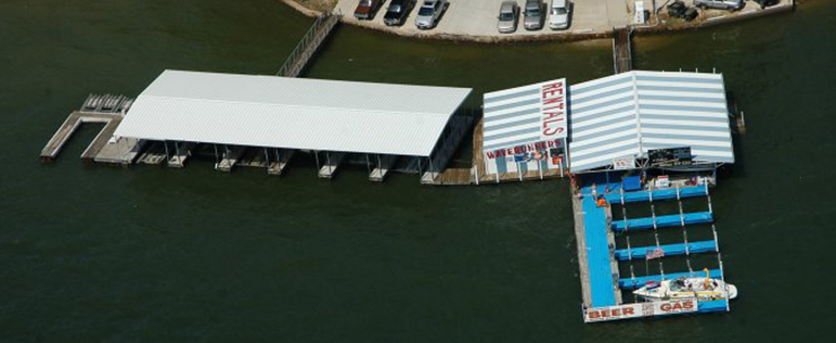 Pirate's Point Boat Rentals Lake of the Ozarks Marina & Gas Dock